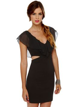 #lulusholiday Sexy Cutout Dress