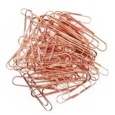 Rose gold paperclips - All Desk Accessories - Desk Accessories - Stationery