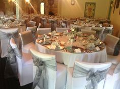Silver and white wedding reception decor for adelaide wedding held silver and white wedding reception decor for adelaide wedding held at sferas reception centre houseofthebride pinterest junglespirit Image collections