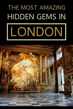 London's Top Hidden Gems - The Quirky, The Queer And The Quaint - My Life Long Holiday Secret Places In London, London Places, Road Trip Uk, European City Breaks, Road Trip Destinations, Long Holiday, Cities In Europe, Interesting History, Lake District