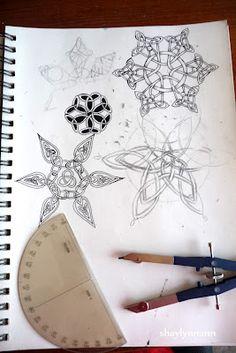 Celtic snowflakes