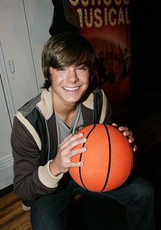 """…Make that """"posing with a basketball at all."""" 