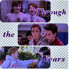 Seth Green and Alyson Hannigan through the years!