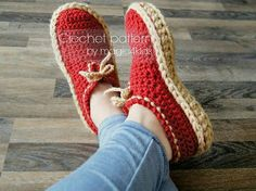 FRENCH version: TUTORIEL CROCHET Chaussons crochet par magic4kids