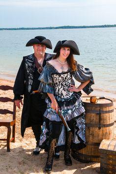 Ren Faire Pirate Western Fest Steampunk Witch Wizard Victorian Fairy Renaissance Renaissance Festival Black Fancy Saloon Girl Skirt