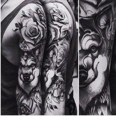 ... tattoos random tattoos wolf tattoos future tattoos kyle s tattoo