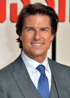 Tom Cruise Charms in Three Piece Suit at Mission: Impossible Rogue Nation London Screening
