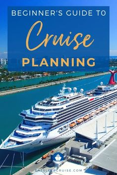Beginner's Guide to Planning a Cruise - We outline several cruise tips that we have learned over the years in this Beginner's Guide to Planning a Cruise. #cruise #cruisetips #cruiseplanning #cruising #eatsleepcruise
