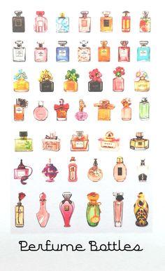 Wallpaper Fofos, Digital Art Girl, Kawaii Art, Aesthetic Stickers, Bottle Design, Art Techniques, Canvas Artwork, Planner Stickers, Decoupage