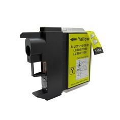 N 1 PK Compatible LC61 Y Inkjet Cartridge For Brother DCP-165c Mfcan-290C