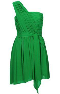 Kate Moss green dress - Kate Moss for Topshop on redsoledmomma.com