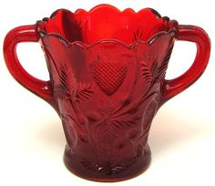 The Red Glass Strawberry