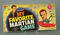 Vintage 1963 My Favorite Martian Board Game Transogram Complete Bill Bixby CBS 1960s Toys, Retro Toys, Vintage Toys, Old Board Games, Vintage Board Games, My Life Game, Game Museum, Childhood Games, Childhood Memories