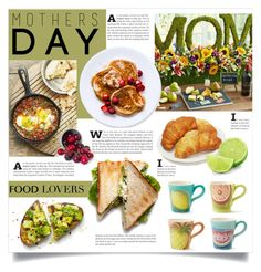 """Mother's Day Brunch"" by lenochca ❤ liked on Polyvore featuring interior, interiors, interior design, home, home decor, interior decorating, Martha Stewart and MothersDayBrunch"