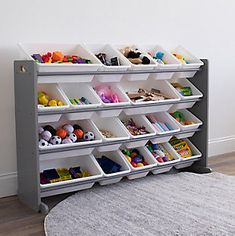 Delta Children Trolls World Tour Plastic Sleep and Play Toddler Bed | Ashley Furniture HomeStore Do It Yourself Organization, Home Office Organization, Toy Organization, Pantry Office, Organizing Kids Rooms, Large Toy Storage, Toy Storage Boxes, Storage Containers, Storage For Toys