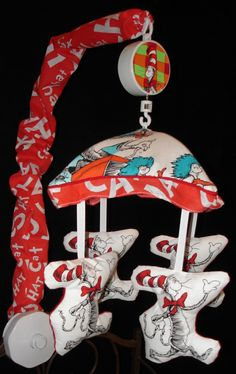 DR SEUSS CAT IN THE HAT NURSERY BABY CRIB by 4beautifulbabies