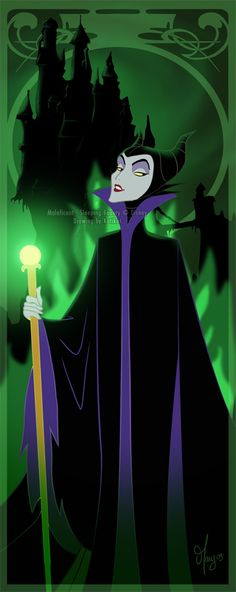 ✯ Mucha Maleficent .. by *Katikut*✯