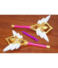 League of Legends Lux Star Guardian Wand cosplay props
