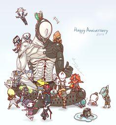Warframe+2years+Anniversaries+by+DarikaArt.deviantart.com+on+@DeviantArt