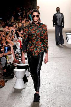 Ricardo Seco coleccion primavera verano 2014 New York Fashion Week