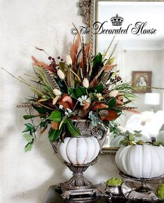 The Decorated House:~ Celebrating  Fall ~ Autumn - Inside Your Home