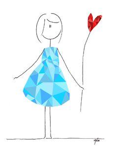#vector #dress #love #norasdesk