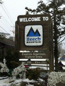 Beech Mountain, North Carolina-Eastern America's Highest Town