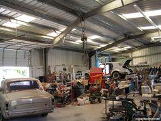 Garage design old car auto repair and body shop buildings gallery garage business card designs . garage design old car