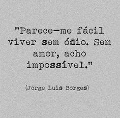sem amor é impossível