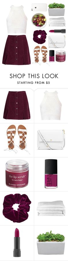 """""""Purple rain"""" by mailasapo ❤ liked on Polyvore featuring Superdry, Glamorous, Billabong, Tory Burch, Sara Happ, NARS Cosmetics, Topshop, Frette, Bite and polyversary"""