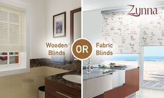 Wooden Blinds or Fabric Blinds? Whats your preference? #Blinds #Woodenblinds #HomeDesigns