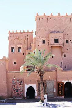 Marrakech, Morocco #pink #travel