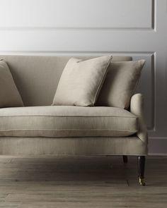 This Lora Settee is gorgeous!  #furniture #settee #sofa #homedecor #affiliatelink