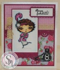 Lesley McCloskey - Verity Rose - Starlet stamp set - Neenah Solar White - Spectrum Noir and Spectrum Sparkle pens: TN7, TN8, EB8, FS2, FS3, TN2, PP1, PL1, BP2, BP6, IG1, IG2, IG4, IG6, TB1 and Crystal Clear sparkle - Verity Rose paper pad - Pink Core'dinations - Ivory Centura Pearl - Starlet Accessories stamp & die sets - Verity Rose lace ribbon set - Die'sire Lace border 6 - #crafterscompanion #spectrumnoir