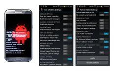 Note 2 Hidden Settings, aplicación con tweaks para tu Galaxy Note 2 y Galaxy S4  http://www.xatakandroid.com/p/97362