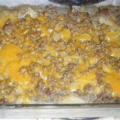 Hamburger Potato Casserole Allrecipes.com