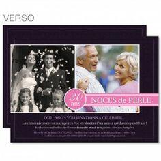 fleurs de mariage une carte dinvitation parfaite pour 30 ans de mariage - 50me Anniversaire De Mariage Texte