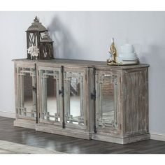 Shop for Kosas Home Danielle 4 Door Sideboard . Get free delivery at Overstock.com - Your Online Furniture Shop! Get 5% in rewards with Club O!