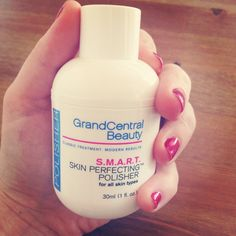 Grand Central Beauty S.M.A.R.T. Skin Perfecting™ Polisher, $38.00  #birchbox