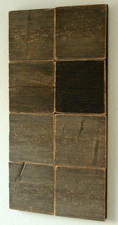 Christian Hetzel Wood Pallet Art, Reclaimed Wood Art, Modern Art, Contemporary Art, Art Beat, Encaustic Art, Tiling, Wood Sculpture, Art Techniques