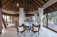 Une maison dans les arbres en Inde