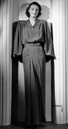 1940s Evening Wear