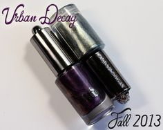 Urban Decay Addiction and Vice #NailPolish – How cool are these bottles? | AllLacqueredUp.com