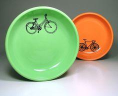 lo bowl dutch bike pistachio  Ready to Ship / In by CircaCeramics, $45.00