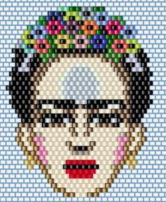 Кирпичный стежок. Beaded Jewelry Patterns, Beading Patterns, Beaded Braclets, Creation Art, Brick Stitch, Loom Beading, Hama Beads, Bead Weaving, Pixel Art