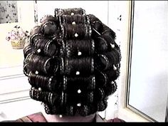 Big Hair Rollers, Perms, Roller Set, Curlers, Old And New, Chandelier, Ceiling Lights, Photos, Photography