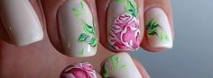 Looking for a really romantic looking nail art design? Flowers would be the best choice to go for. There are many types of flowers ...