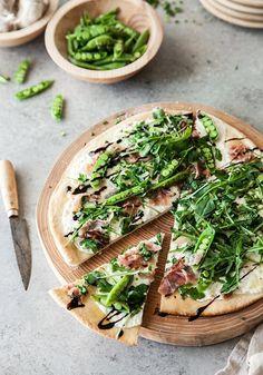 Snap Pea and Arugula Pizza – Farmhouse Pottery