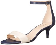 Navy and Off White Nine West Women's Leisa Leather Heeled Dress Sandal, Navy... https://smile.amazon.com/dp/B017MTPXBC/ref=cm_sw_r_pi_dp_x_Q1yizb33A8CD8