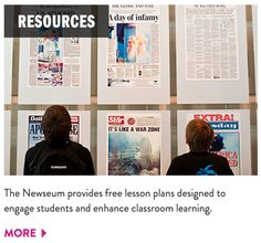 Newseum a no-brainer for the social studies classroom.